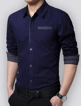 Hot-selling elegant mens dress shirt in bulk