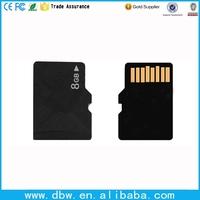 Trade assurance factory bulk size cheap prices memory card 2gb 4gb 8gb sd card tf card