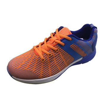 Cheap Orange Grey Leisure Mens Sneakers Air Running Shoes