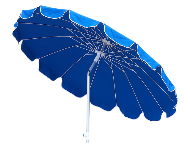 220*16k aluminium 160g polyester high quality umbrella big out door umbrella