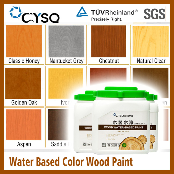 Water Based bamboo paint color