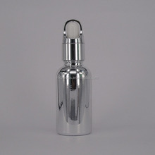 30ml chemical stainless steel spray bottles with dropper for e vape oil