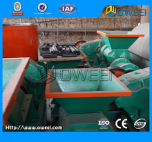 Rice husk charcoal briquette making machine