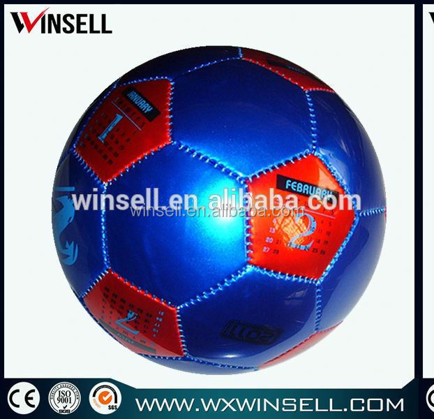 laser shine eva pvc soccer ball/football