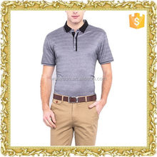 Most popular printing CVC designer mens polo pants