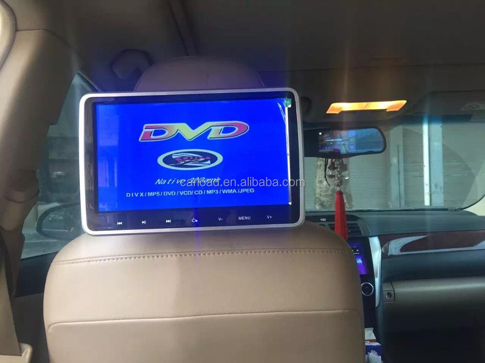 Auto Rear seat entertainment 10.1 inch lcd car headrest android car monitor