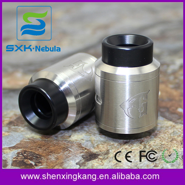 SXK 528 Goon 1.5 rda High Quality Black / SS 1:1 Clone 24mm Goon v1.5 rda