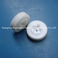 China maker customized mould plastic injection the small pom worm gears