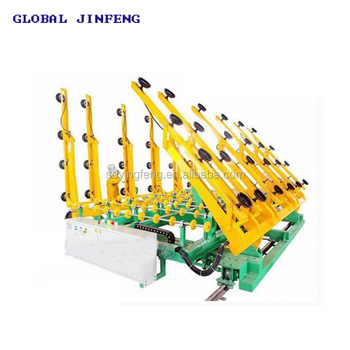 JFWSP-6133 Used CNC glass cutting machine loading and distribute table good price