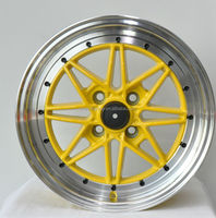 work yellow color wheels for sale
