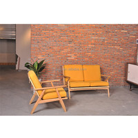 High quality wood furniture low price sofa set