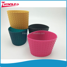 Pure ROHS silicone material made silicone cup/bottle use gear sleeve silicone sleeve with gears factory made