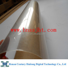 Rolling crystal film for cold laminating for PET advertising