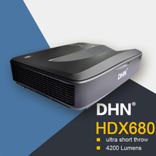 HDX680 1080p full hd video display passive 3d projector logo