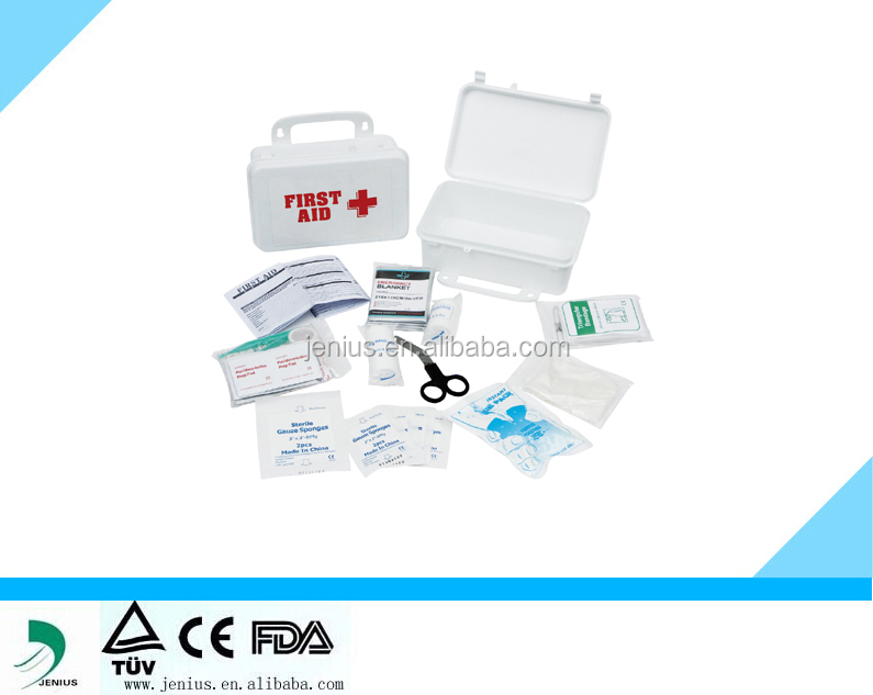 Plastic private label First Aid kit box