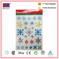 Holiday Sticker christmas sticky window decoration