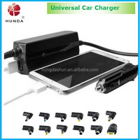 90W Laptop Universal usb Car Charger Auto DC/AC Adapter 12V or 15V or 18.5V or 19V or 19V or 19.5V or 20V