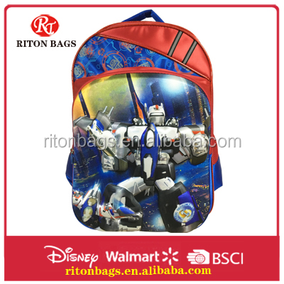 Fashional Cartoon Picture of Eva School Bags China with Deft Dsign for Students Boys