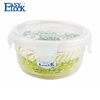 Redbuds Pattern BPA Free Plastic Food Container with Lid 300ML/10oz