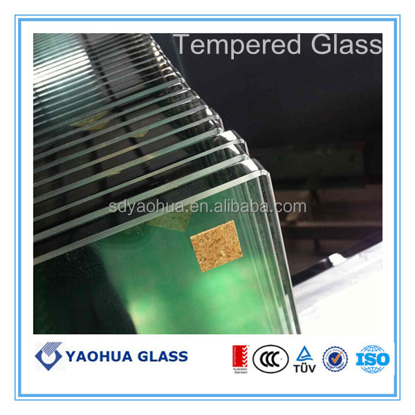 toughened glass with heat soaked test ( AS/NZS2208)