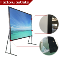 Imported material 16:9 4:3 good ratio outdoor fast fold grandview projector screen