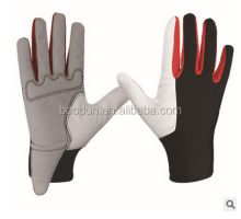 high quality best selling custom fashion professional elegance equestrian horse riding racing sports gloves