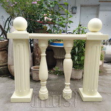 Indoor or Outdoor Balcony and Stair Decoration Use Custom Made Fiberglass Balustrade