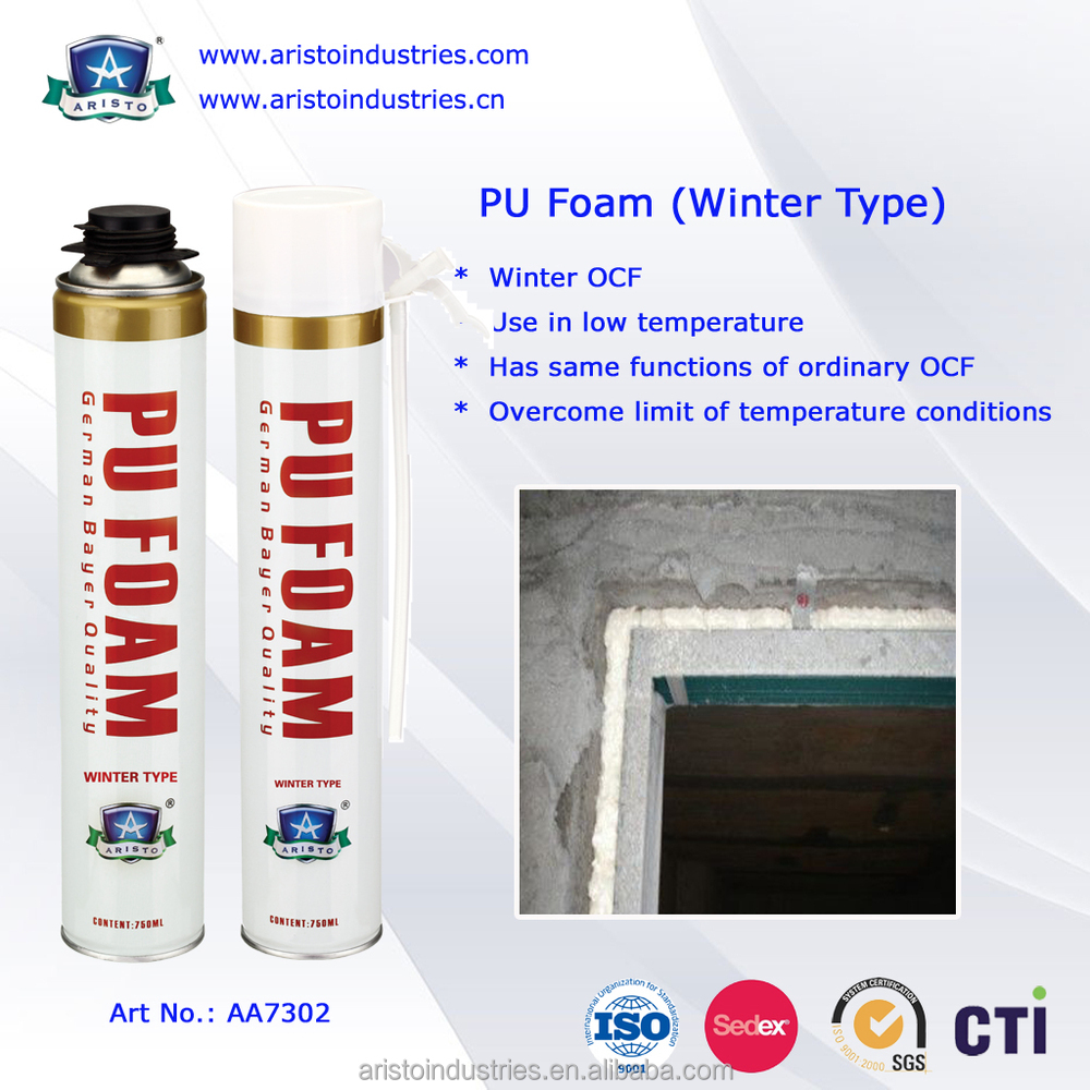 Aristo Winter Type 750ml PU Foam