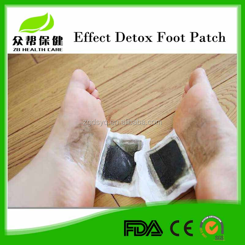 Hot promotional product as seen on TV bamboo vinegar detox foot patch