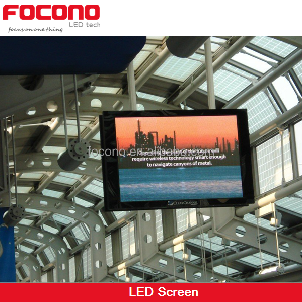 Indoor Big LED TV Billboard, P4mm Video Function LED TV Display Screen