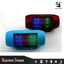 New Arrival 5W*2 Mini Bluetooth Wireless Speaker T-2218A With Colorful Led Light