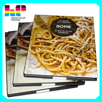 2016 professional Glossy art cooking food recipe book printing