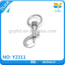 stainless steel carabiner spring snap hook for parachute