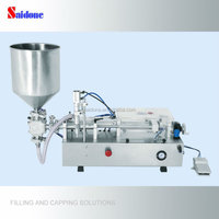 Semi-Automatic Paste/cream Bottle Piston Filling Machine