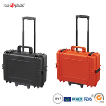 Hard plastic waterproof anti-shock tool case with trolley RC-PS 350