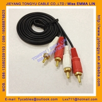 rca cable 2r-2r av cable audio cable