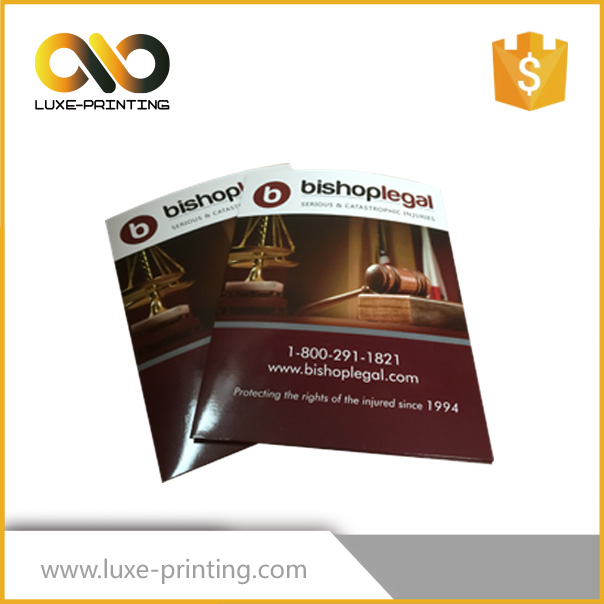 Cheap printing brochure /flyer/magazine/catalogue of factory supplier