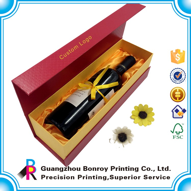 Cheap Customized special paper cardboard wine box