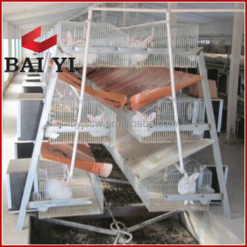 rabbit farming cage with all equipment