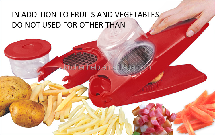 Kitchen hand tool potato cutter/potato chipper/vegetable chopper