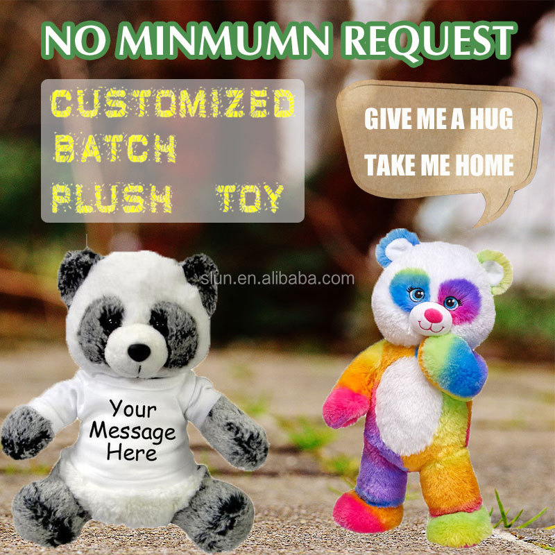 Wholesale Customized panda Plush stuffy Toy For Promotion