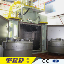 Rotary Satellite Table Type Shot Blasting Machine