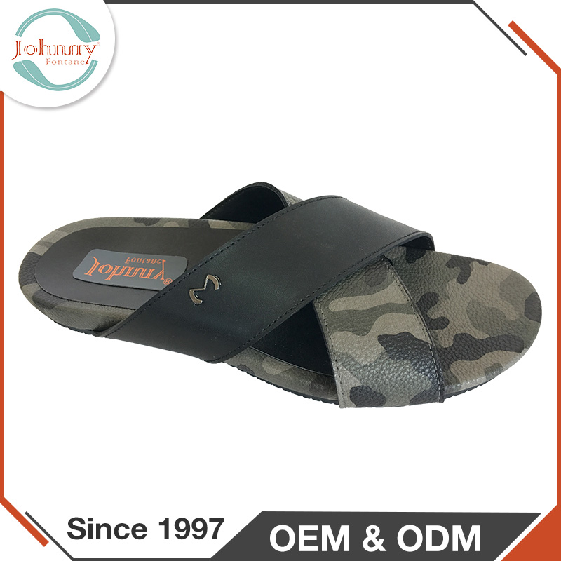 Men Trend Shoes Summe PU Lining Rubber Outsole Thailand Slippers