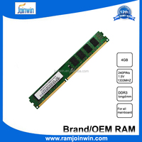 Competitive Price Unbuffered wholesale desktop 4gb ddr3 ram manufacturer from China