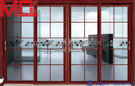 Sliding glass door grids company prices modern aluminum for Aluminum sliding glass doors price
