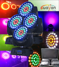 factory price 36*12W 6 in1 RGBWA+UV led zoom wash moving head /night club light