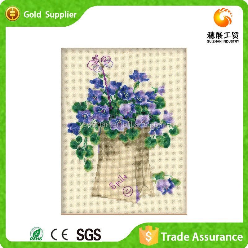 YIWU supply beautiful flower embroidery design 5D diamond painting