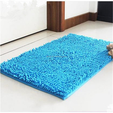 wholesale 100% polyester water absorbent soft shaggy floor rug