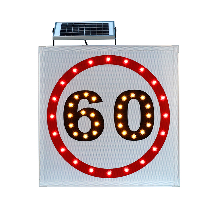 Speed limit solar traffic sign signs price power signl