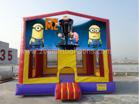 Crazy sale!! New design inflatable bounce house cartoon theme for sale Z1235